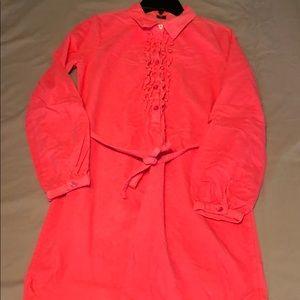 Girls corduroy dress
